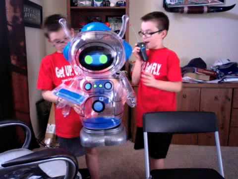 S2 E2 Meet Joe Bot The Robot Youtube