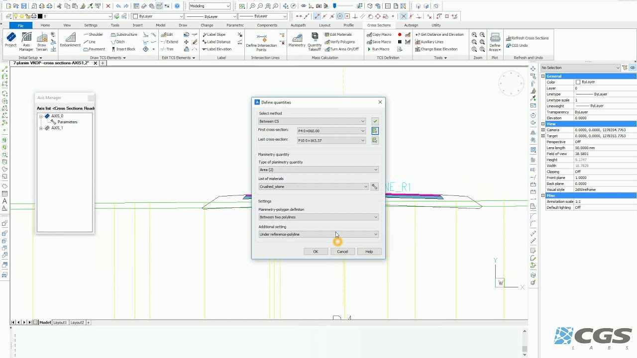 Plateia - BIM Software for Road Design and Reconstruction