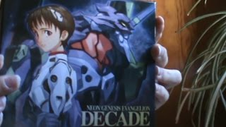 Neon Genesis Evangelion Decade CD Soundtrack [unboxing]