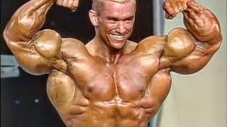 Lee Priest Posing in His Best Shape  - 24 Years Old Genetic Freak
