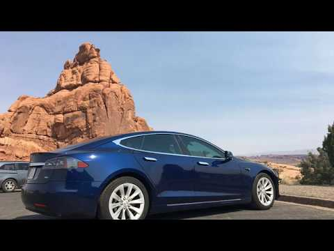 2017 Central Texas to Wyoming Trip in our Tesla Model S90D