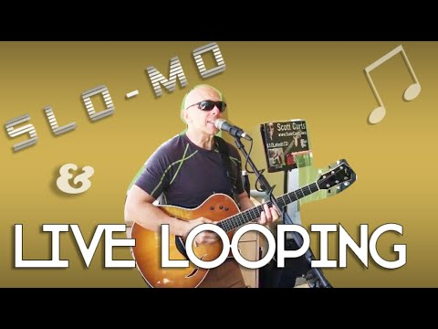 Live Looping Music on A Saturday