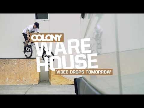 Little teaser clip from the Warehouse video dropping tomorrow featuring Polly, Clint Millar and Glen McLaughlin. Thanks for watching, make sure you subscribe: http://www.youtube.com/user/ColonyBMX...