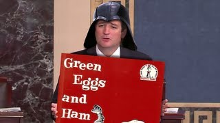 Ted Cruz's Bizarre Dr Seuss & Star Wars Moments During Filibuster