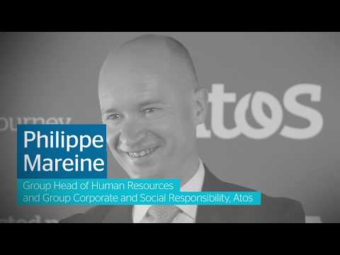 In this video Phillipe Mareine,Group Head of Human Resources and CSR at Atos, discusses...