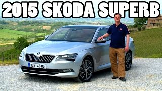 ► 2015 Skoda Superb review test drive