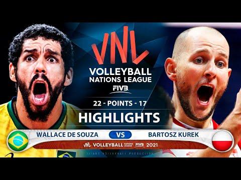 Download Brazil vs Poland | Gold Medal Match | VNL 2021 | Highlights | Wallace De Souza vs Bartosz Kurek
