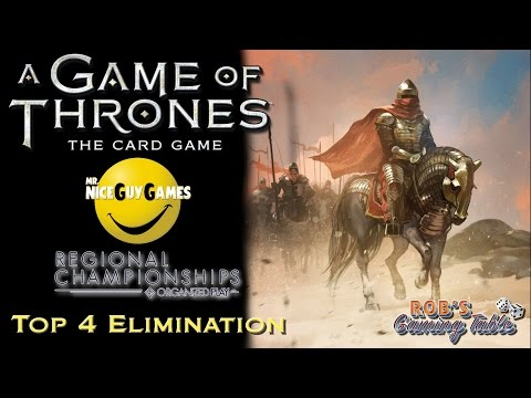 Game Of Thrones Card Game: Pennsylvania Regional Championship 2016 - Top 4