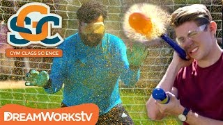 Soccer and a Pressurized Goop Cannon | GYM CLASS SCIENCE