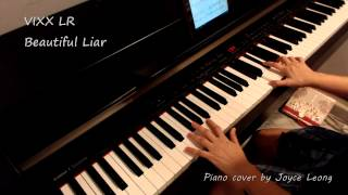 VIXX LR - Beautiful Liar - Piano cover & Sheets