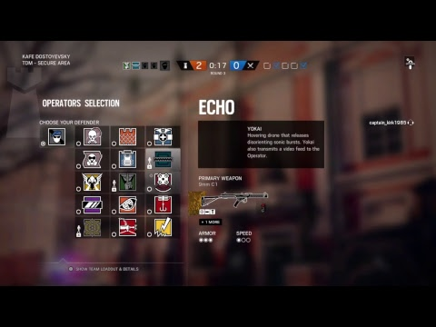 Rainbow six : SiEGE. Almost Easter grinding back to GOLD