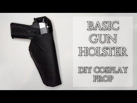 Basic Gun Holster Diy Cosplay Prop Crofty Cosplay