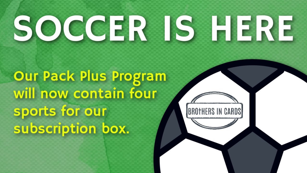 Soccer Pack Plus Program is HERE!
