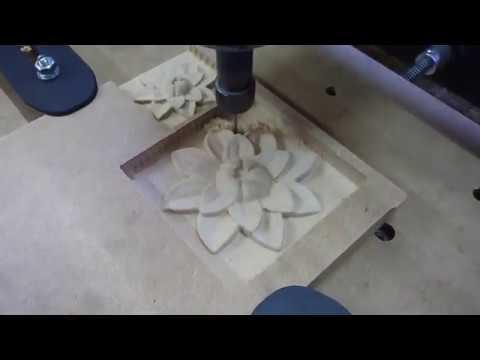 Самодельный фрезерный станок чпу из фанеры. 3D-фрезеровка МДФ. Часть 4.