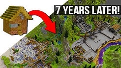 My Most Challenging Minecraft Project  - 7 Years Later!