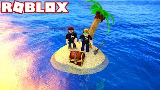 LOOKING FOR TREASURE ON MY OWN ISLAND! / ROBLOX TREASURE HUNT SIMULATOR