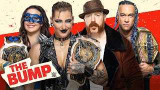 Damian Priest, Sheamus, Rhea Ripley \u0026 Nikki A.S.H. join the show: WWE's The Bump, Sept. 22, 2021