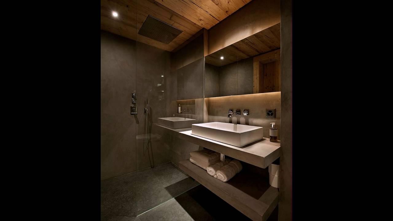 Grau Tadelakt Weiß Türkischen Kalkstein Form Die Chalet Badezimmer