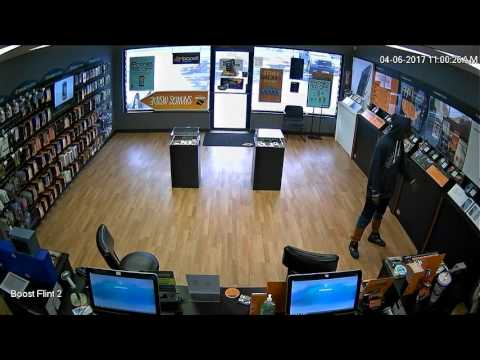 Thief steals iPhone 7 worth $800 from local Boost Mobile store in Flint Genesee County Mi