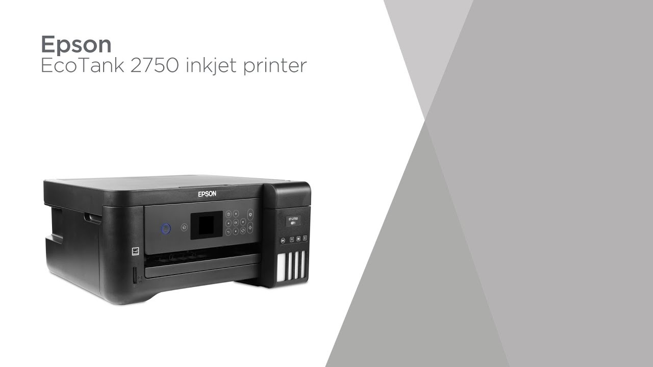 Epson Ecotank ET-2750 All-in-One Wireless Inkjet Printer | Product Overview  | Currys PC World