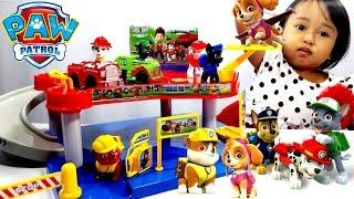 Mainan Anak Mobil Mobilan 💖 PAW PATROL Edisi PARKING LOT 💖 Lets Play Jenica