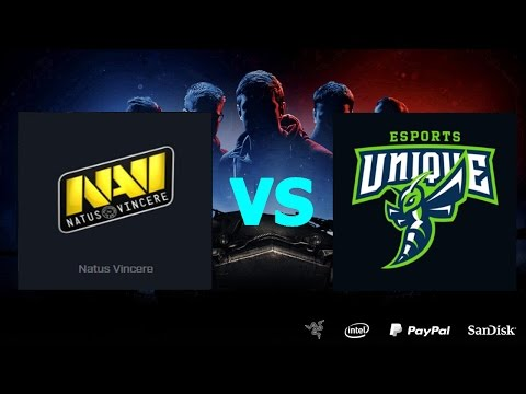 Natus Vincere G2A vs UNIQUE - LAN-final Season II Gold Series WGL RU 2016-17