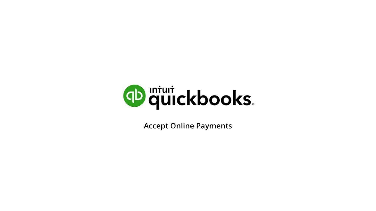 QuickBooks Online Payments Accept Credit Cards With Online Invoices - Quickbooks pay invoice with credit card