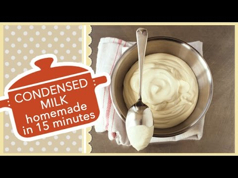 Sweetened CONDENSED MILK Homemade | In 15 Minutes