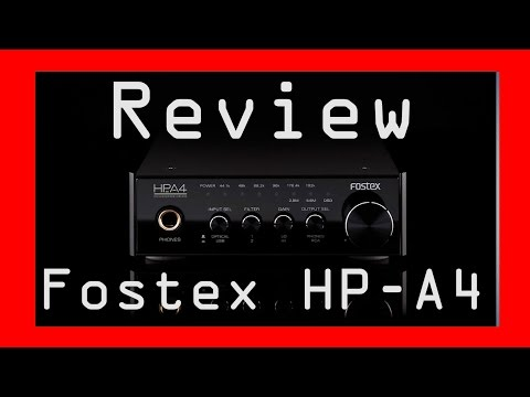 Fostex HP-A4 Kopfhörerverstärker Review / Hifi beim zocken und Musik hören zum fairen Preis