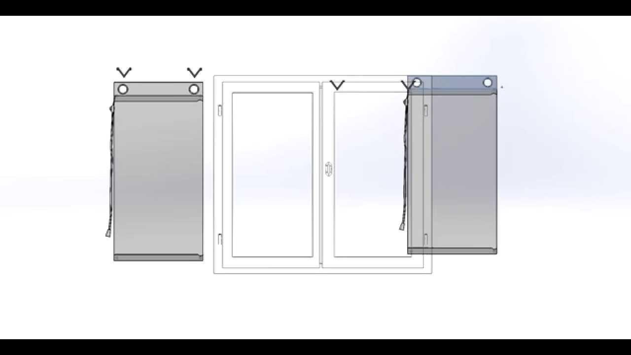 Poser Un Store Bateau Sans Percer Secodir Deco Youtube