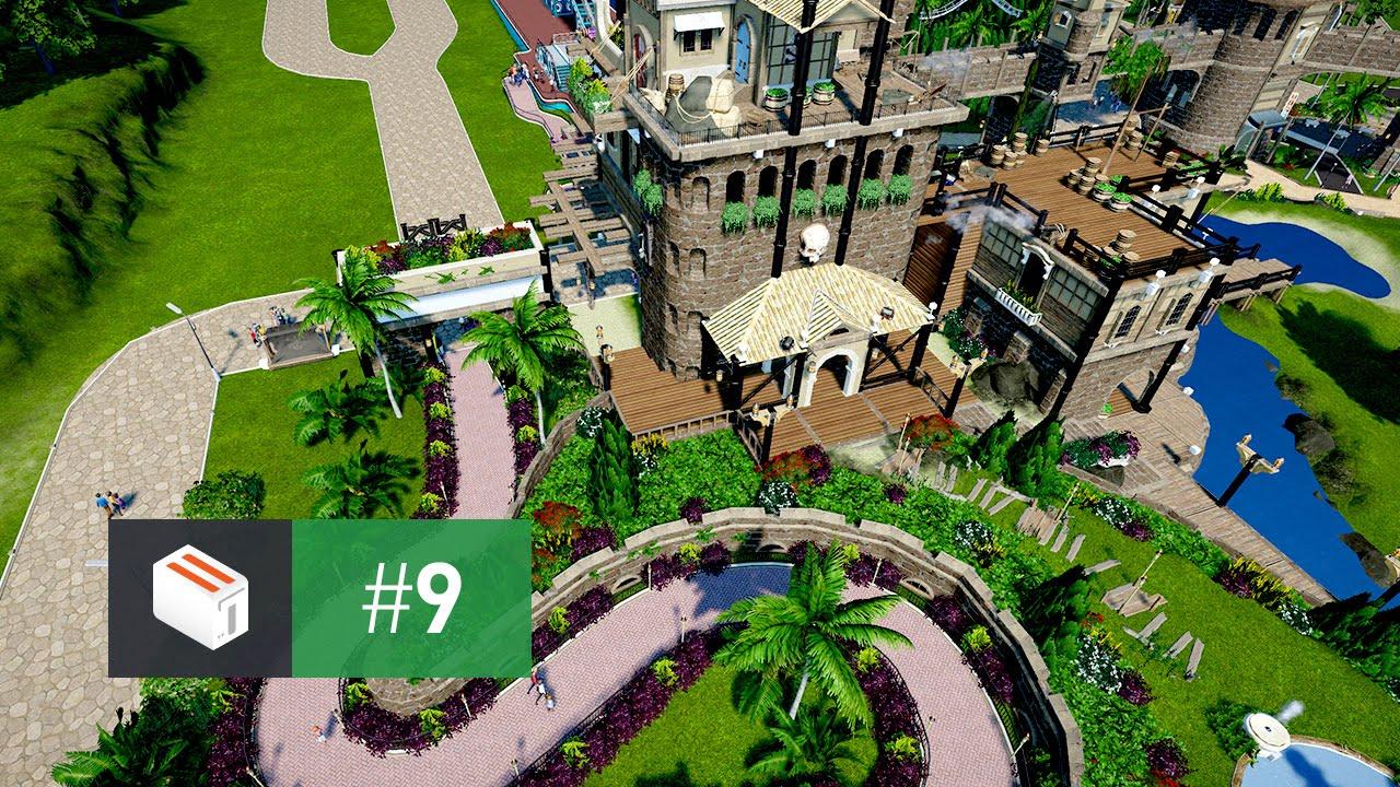 Let\'s Design Planet Coaster — EP 9 — Re-Building the Park Entrance ...