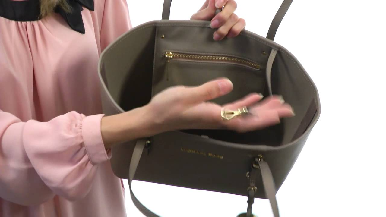 3f754ae02475 MICHAEL Michael Kors Jet Set Travel Small Travel Tote SKU  8382247 - YouTube