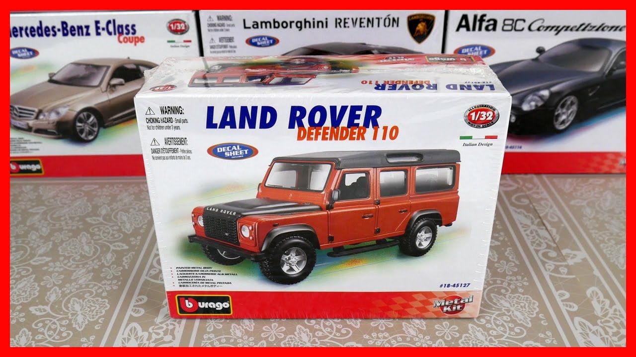 toy cars for kids model car land rover defender 110 bburago italian toy car construction