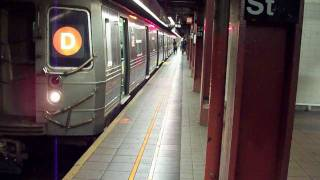 IND R68 (D) end at 34th Street Station [HD]