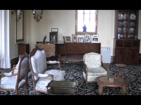 A SHORT TOUR OF MINARD CASTLE IN SCOTLAND