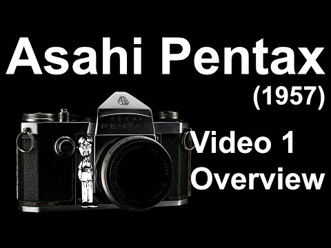 Asahi Pentax (1957) Video Manual 1: Overview, Camera Features, Functions, Buttons, And Interface