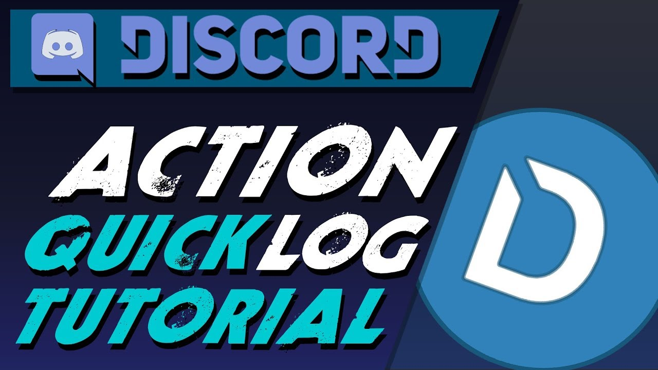 Discord Dyno bot action log quick tutorial, a