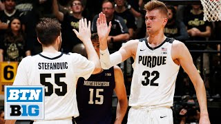 Highlights: Haarms Leads Boilers to Win | Northwestern at Purdue | Dec. 8, 2019