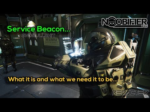 The Service Beacon - What it is and what we need it to be - #nobullshit - Star Citizen