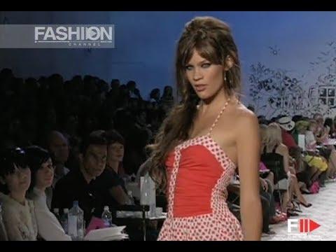 BETSEY JOHNSON Spring Summer 2006 NewYork - Fashion Channel