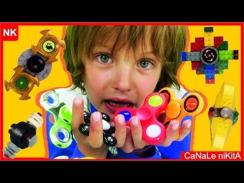 Fidget Spinner VS Spinner di Lego COME COSTRUIRE SPINNER Ita DI LEGO #Recensione Fidget Spinner Ita