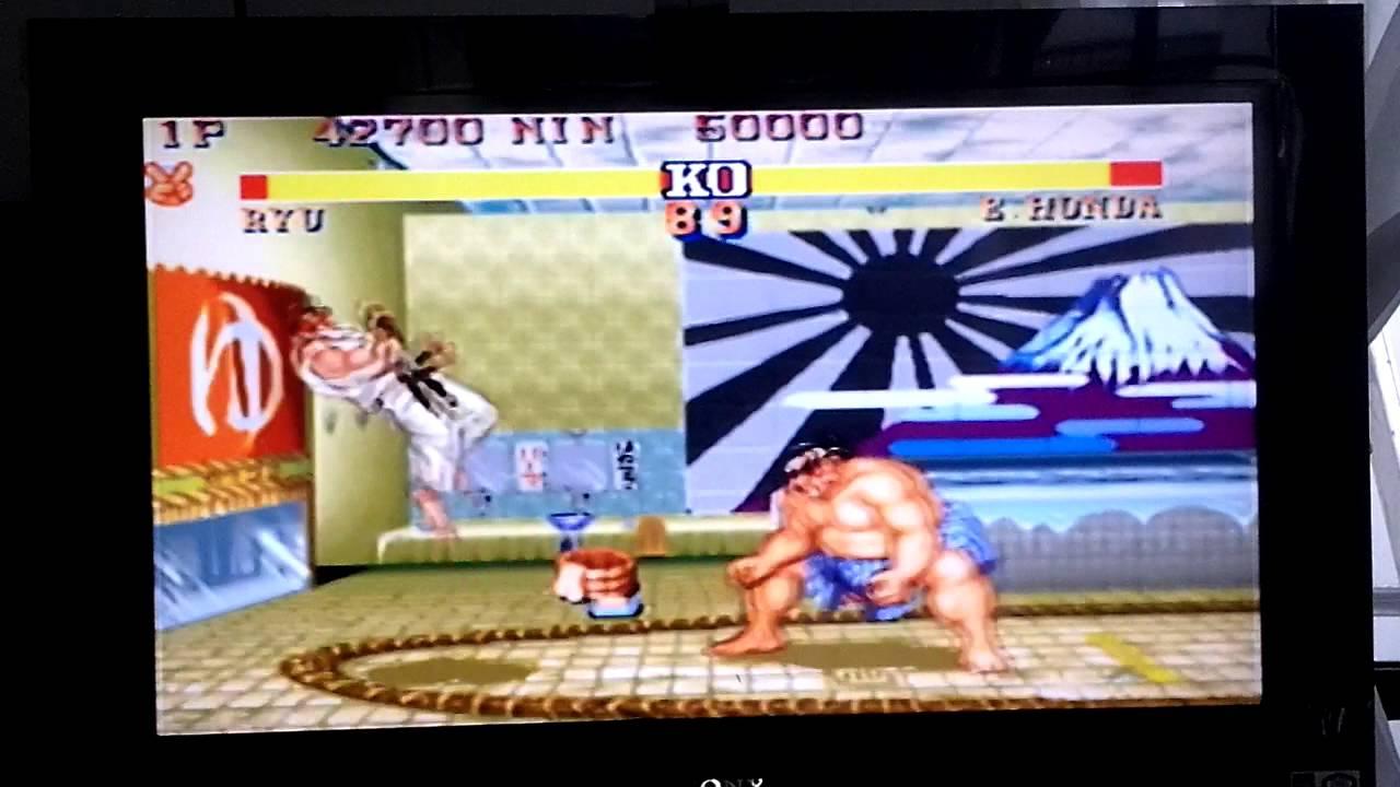 Street Fighter II' Champion Edition en RetroArch para Wii 1/3