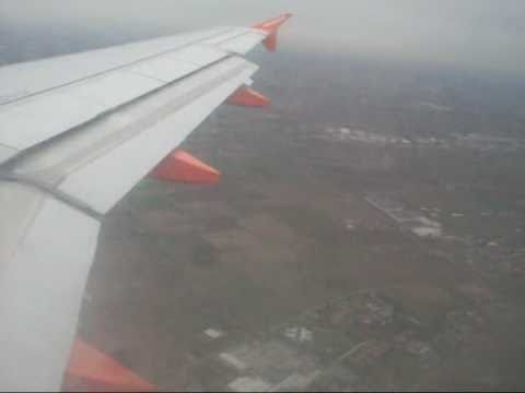 easyJet atterraggio a Malpensa