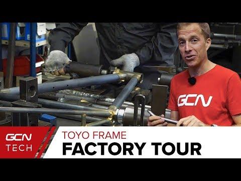 Making A Hand Built Steel Bike | Toyo Frame Factory Tour