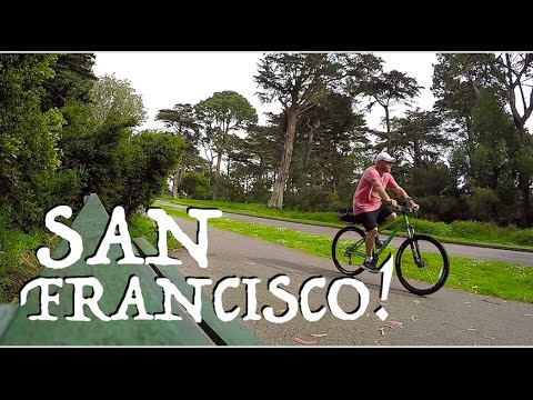 San Francisco By Bike & Golden Gate Park