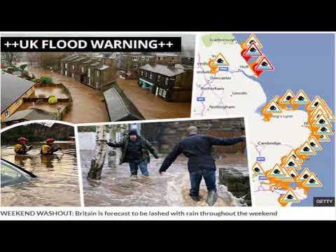 UK FLOOD alert: Torrential rain and tidal waves spark warnings to take 'immediate action'