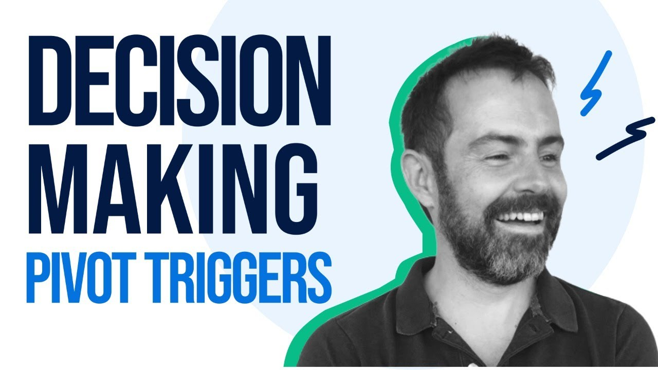 When to Stop and Think: Decision Making Using Pivot Triggers w/Tom Kerwin - Exploring Product