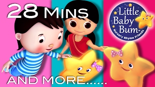Twinkle Twinkle Little Star | Plus Lots More Nursery Rhymes | 28 Mins Compilation by Little Baby Bum