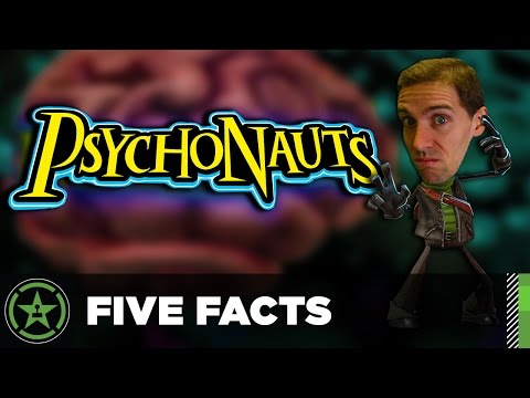 Five Facts – Psychonauts (Featuring Funhaus!)