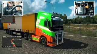 Indian Truck Driving Part 1 | Euro Truck Simulator 2 Gameplay With Logitech G29 | Ets2 Trucks